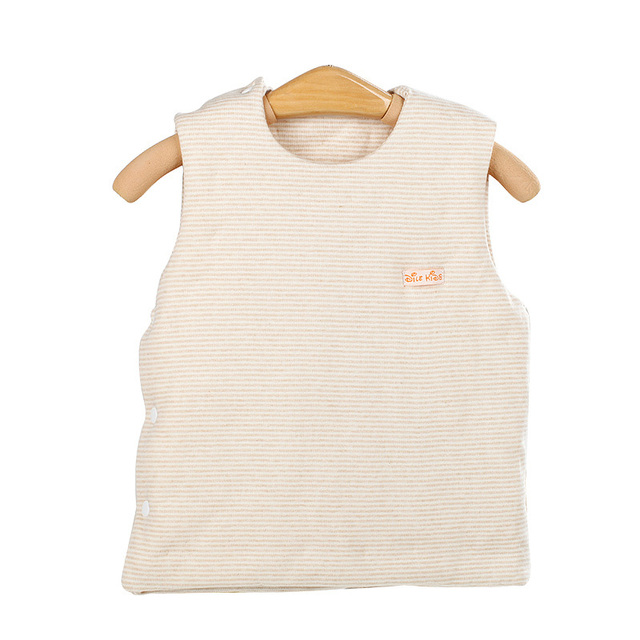 2016 hot primavera bebê cor sólida roupas colete 0-neck cottor garoto outerwear macio moda bebê colete 0-3years cintura criança casacos