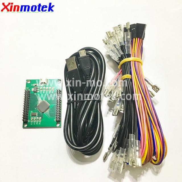 Xinmotek XM-07 Trackball Board / Arcade Game Controller/ USB Encoder Board /  Game Machine Accessories