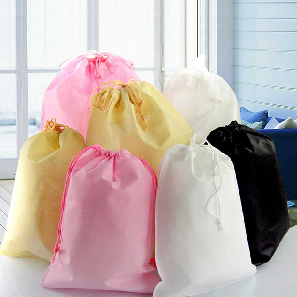 1 Cái Chất Lượng Cao Chống Thấm Nước Mới Không Dệt Bụi Túi Cho Giày Vải Như Du Lịch Nhà Lưu Trữ Dụng Cụ