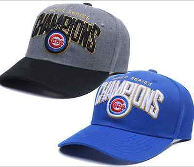 chicago flag baseball hats official world series champions champs font cubs new bears vintage hat