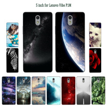 Phone Cases For Lenovo Vibe P1M Silicone Sleeping Painted Protector fo