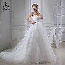 Eren Jossie Stunning Ivory Tulle Ball Gown Outdoor Wedding