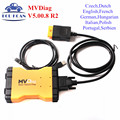 2017 MVDiag Multi Vehicle Diag V5.00.8 No Bluetooth For Car Truck Same Function As TCS CDP Multi-Language