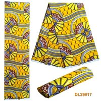 Nigeria Super Wax Printed Apparel Fabric 6 Yards Lot Smt 10 10