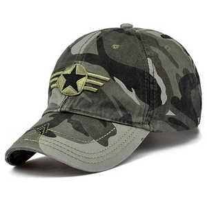 Мужские бейсболки с пентаграммой, кепки с камуфляжным принтом, кепки для охоты, рыбалки, кепки с регулируемой спинкой, 2019