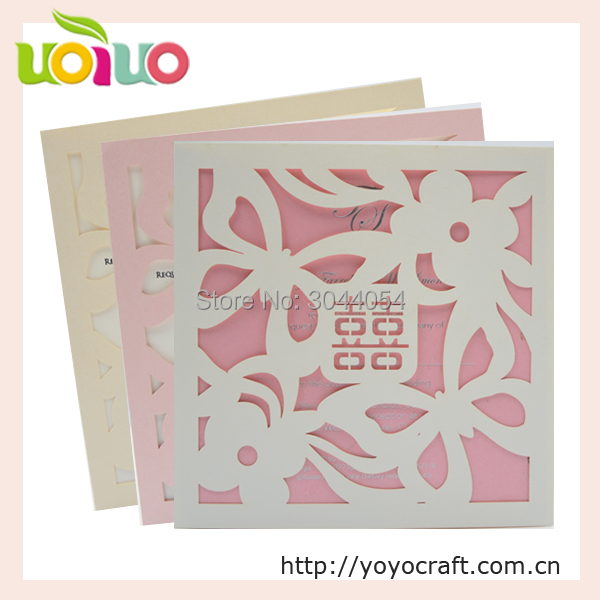 Us 31 5 Chinese Red Traditional Wedding Invitation Card Laser Cut Pop Up Cards Made In China Free Custom Logo Service In Cards Invitations From