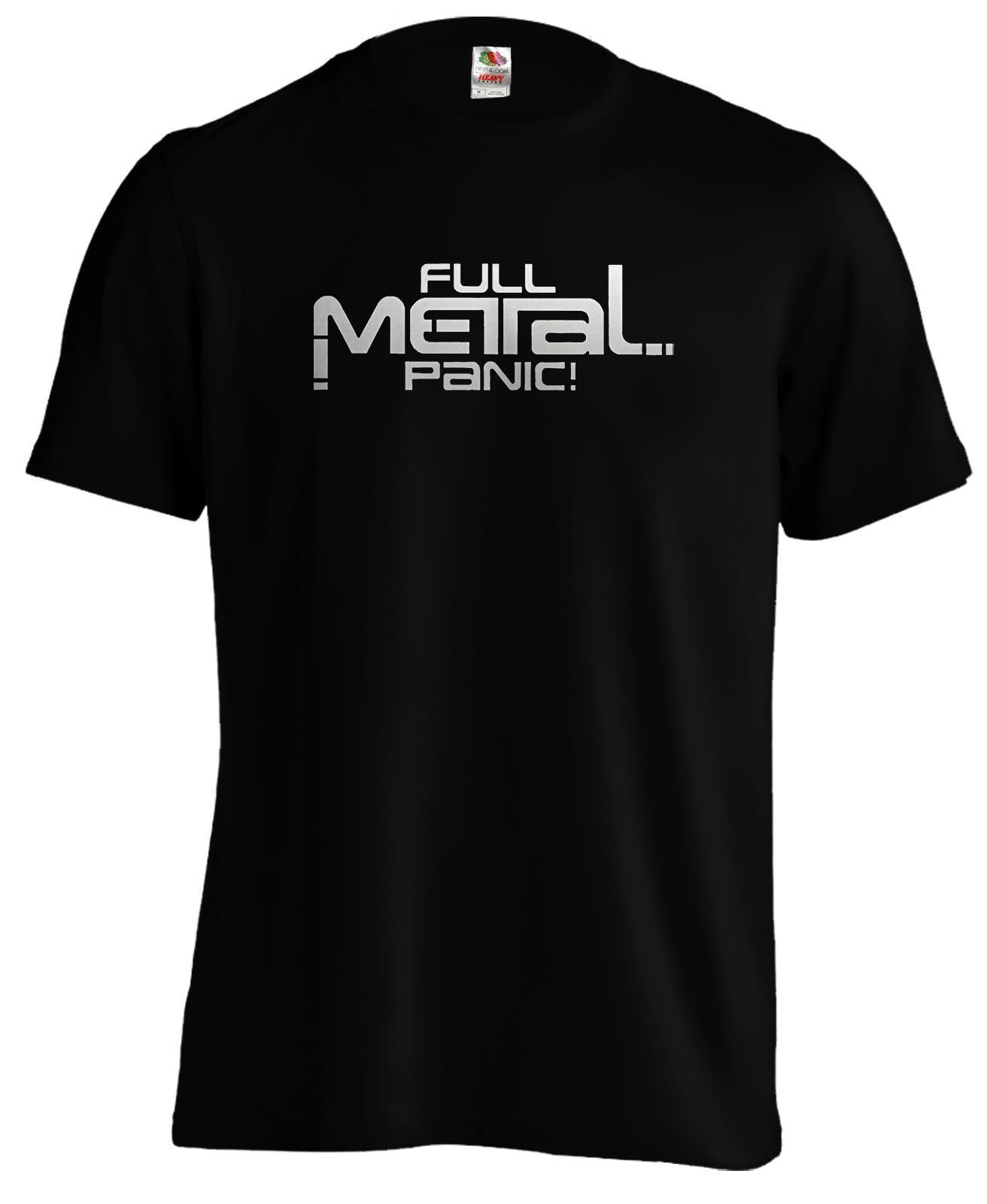 Full Metal Panic Logo Anime Manga T Shirt Tee New Shirts Funny Tops Unisex