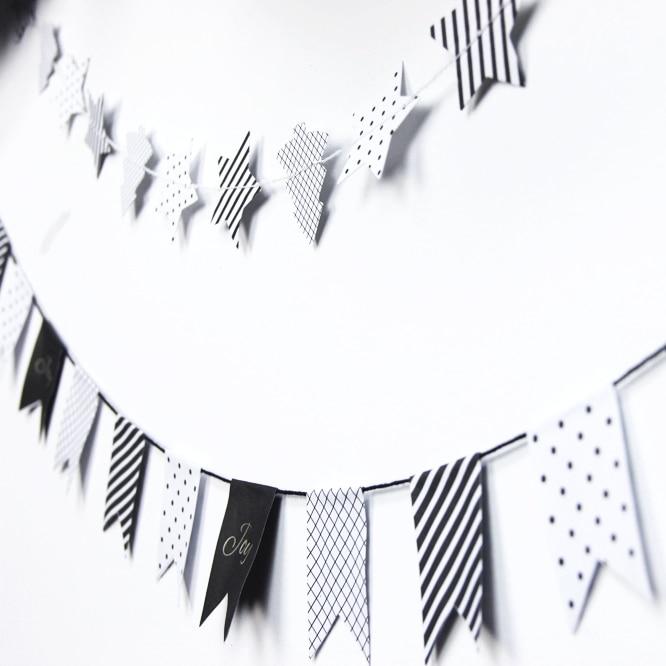 Hängande dekorationer Tinkle Little Star Paper Rosette (Banners, - Semester och fester - Foto 4