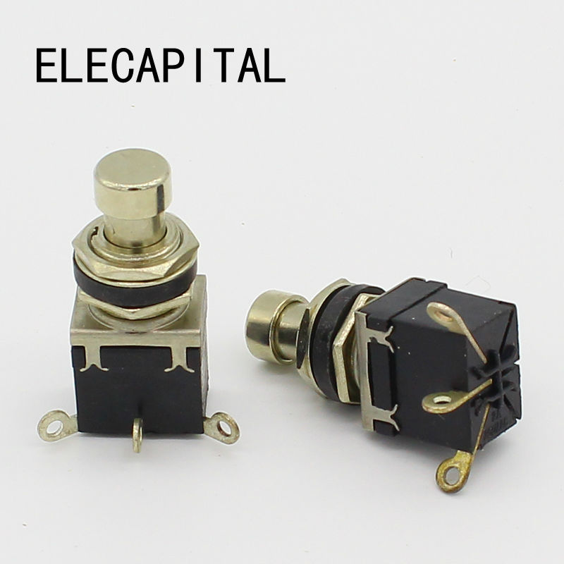 latching type maintained spdt guitar effects stompbox foot pedal switch true bypass guitar. Black Bedroom Furniture Sets. Home Design Ideas