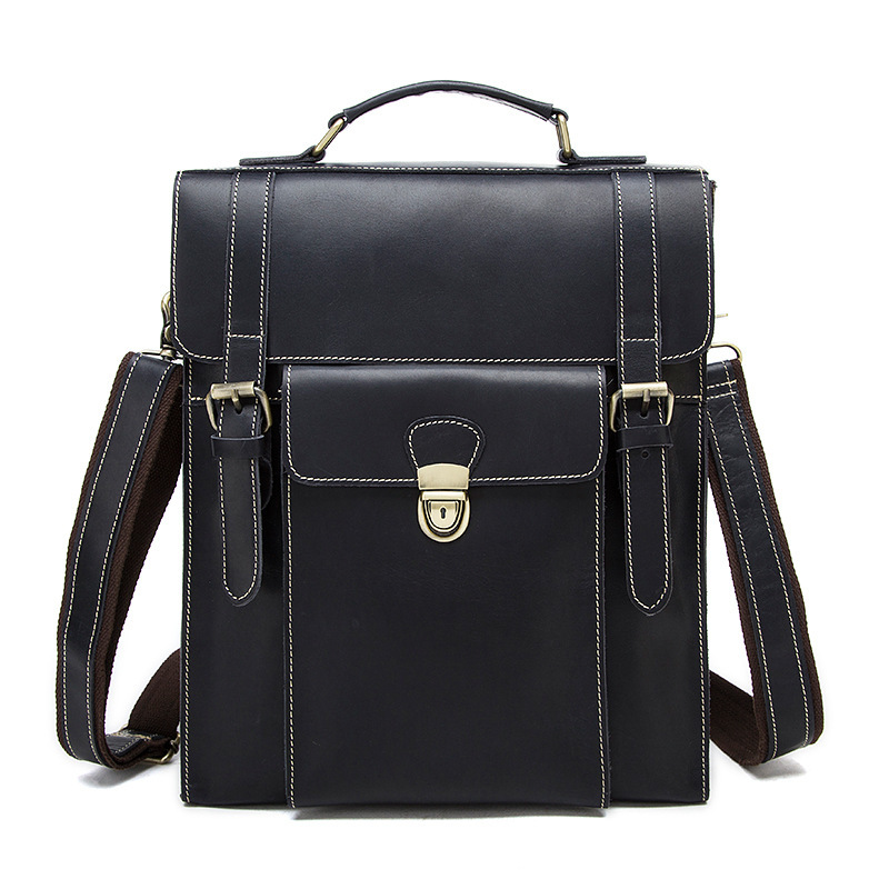 Famous Brand Genuine Leather vintage Men Backpack Bags Large Men Travel Bag Luxury Designer Leather School Bag Laptop Backpack high quality authentic famous polo golf double clothing bag men travel golf shoes bag custom handbag large capacity45 26 34 cm