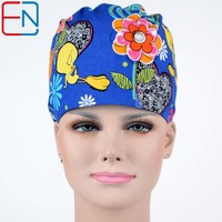 NEW Matin Surgical Caps For Female Women Medical Caps One Size Adjustable Scrub Hats In Black