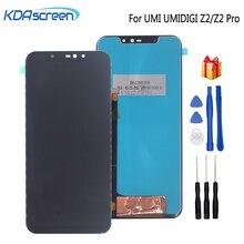 Oryginał dla UMI UMIDIGI Z2 Pro wyświetlacz LCD dotykowy zamiana digitizera ekranu dla UMIDIGI Z2 ekran wyświetlacza LCD części do telefonu