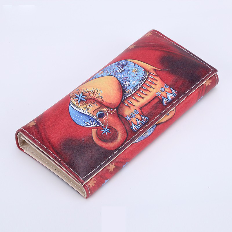 New Women Wallets Lady Purses Girls Coin Purse Pocket Money Bags Cards ID Holder Elephant Wallet Handbags Woman Burse Bag Cases new 2017 pink hollow leaf short wallet women wallets small purse for girls credit id card holder money coin bag christmas gifts
