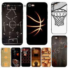 MaiYaCa для iphone 7 Чехол для баскетбольной площадки прекрасные аксессуары для телефона чехол для iphone 7X6 6S 8 Plus 5 5S SE XS XR чехол