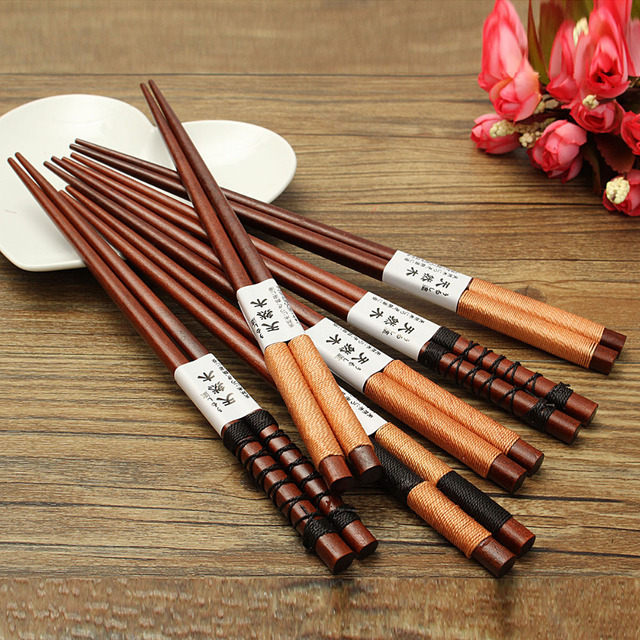 6 Pairs Japanese Natural Tableware Handmade Chopsticks Bento Partner Cool Gift & 6 Pairs Japanese Natural Tableware Handmade Chopsticks Bento Partner ...