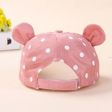 Cute Breathable Cap for Babies