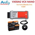 VXDIAG VCX NANO para Ford/Mazda 2 em 1 com IDS V100.01 VXDIAG VCX NANO para Ford/Mazda com Multi-língua USB versão