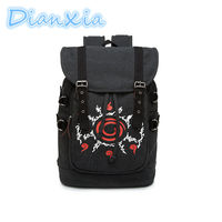 DIANXIA 2017 New Arrival Anime Naruto Dragon Ball Tokyo Ghoul High Quality Schoolbag Gift For Students