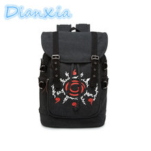 DIANXIA 2017 New Arrival Anime Naruto Dragon Ball Tokyo Ghoul High Quality Schoolbag Gift For Students Kids Children Model Toy