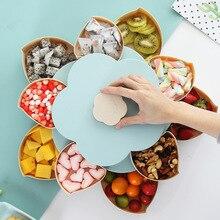 Новейший пластиковый ящик для хранения семян орехов конфет сухие фрукты чехол сливового типа ланч-контейнер для детей Защитный фруктовый Чехол Органайзер
