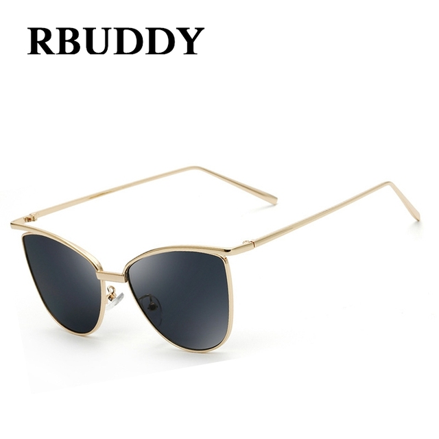 Sol Mirror Women Glasses Design Eye Frame Female In Summer Brand Alloy Doculos 8rbuddy Sun Vintage Us7 De Retro French Cat Sunglasses 7y6vfgYb