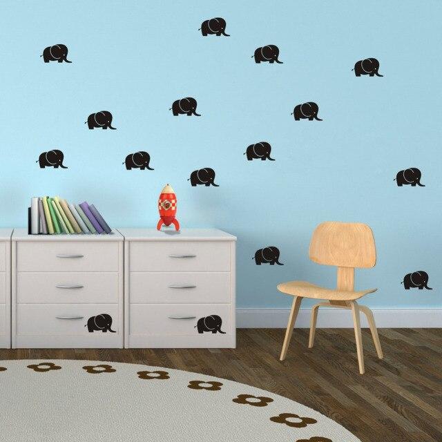 Aliexpresscom Buy Elephant Decals DIY Vinyl Wall Sticker - Vinyl wall decals kids