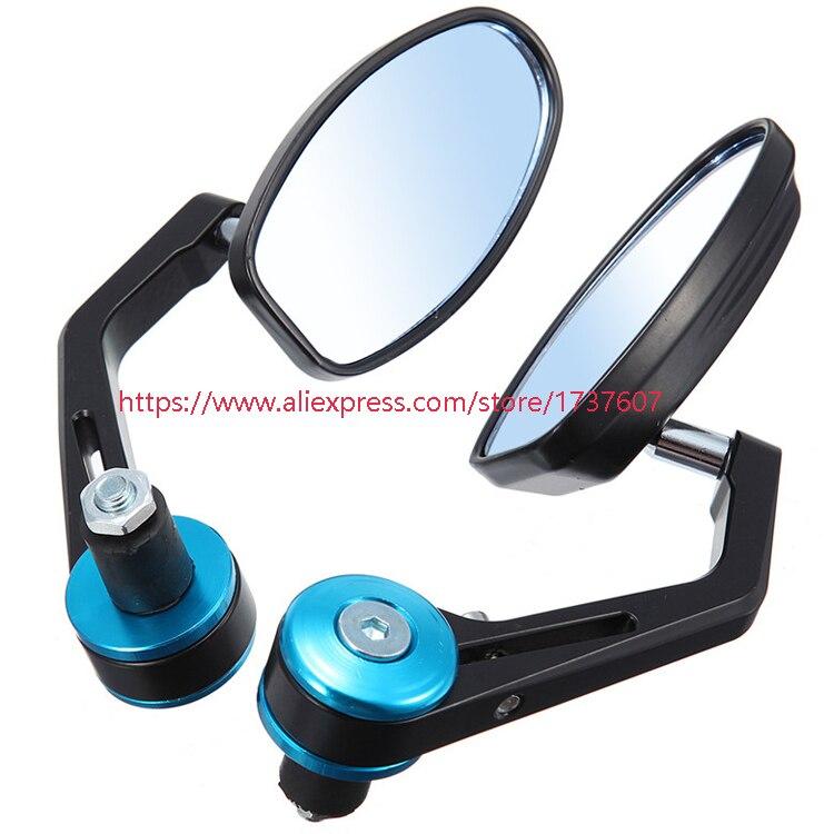 1 pair of motorcycle rearview mirro motorbike side mirror motorcycle viewfinder motocross rearview