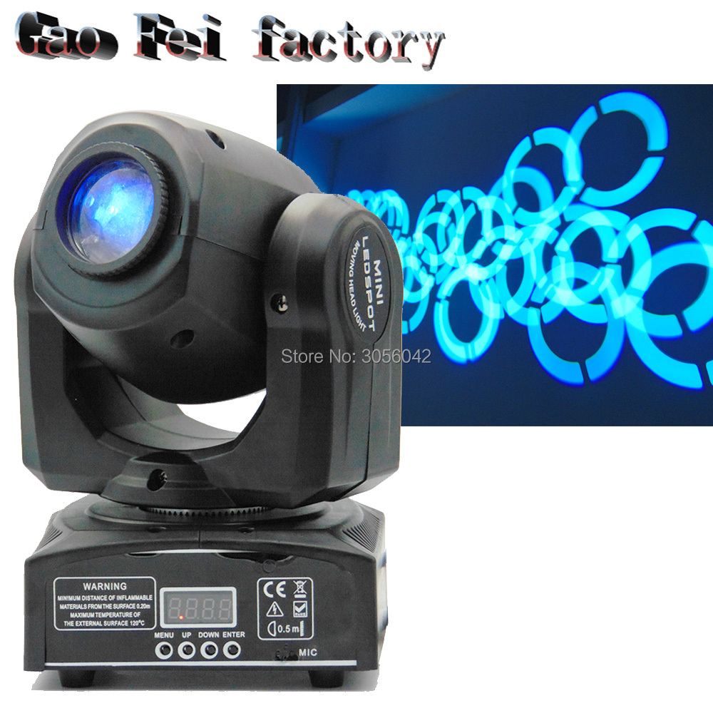 10W mini led spot moving head light Mini Moving Head Light DMX Controller dj 8 gobos effect stage lights/ktv bar disco10W mini led spot moving head light Mini Moving Head Light DMX Controller dj 8 gobos effect stage lights/ktv bar disco