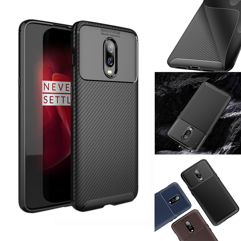 HIPERDEAL Cases For OnePlus 6T Anti sratch Protection Armor Soft PC+TPU Material Case 6.41 inch  Drop.11.28-in Smart Accessories from Consumer Electronics