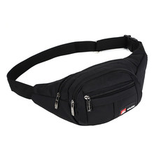 8 Color Unisex Waist Pack for Men Women Fanny Pack Bum Bag Travelling Phone Money Bag Pouch Banana Bags Female Belt Bag heuptas(China)