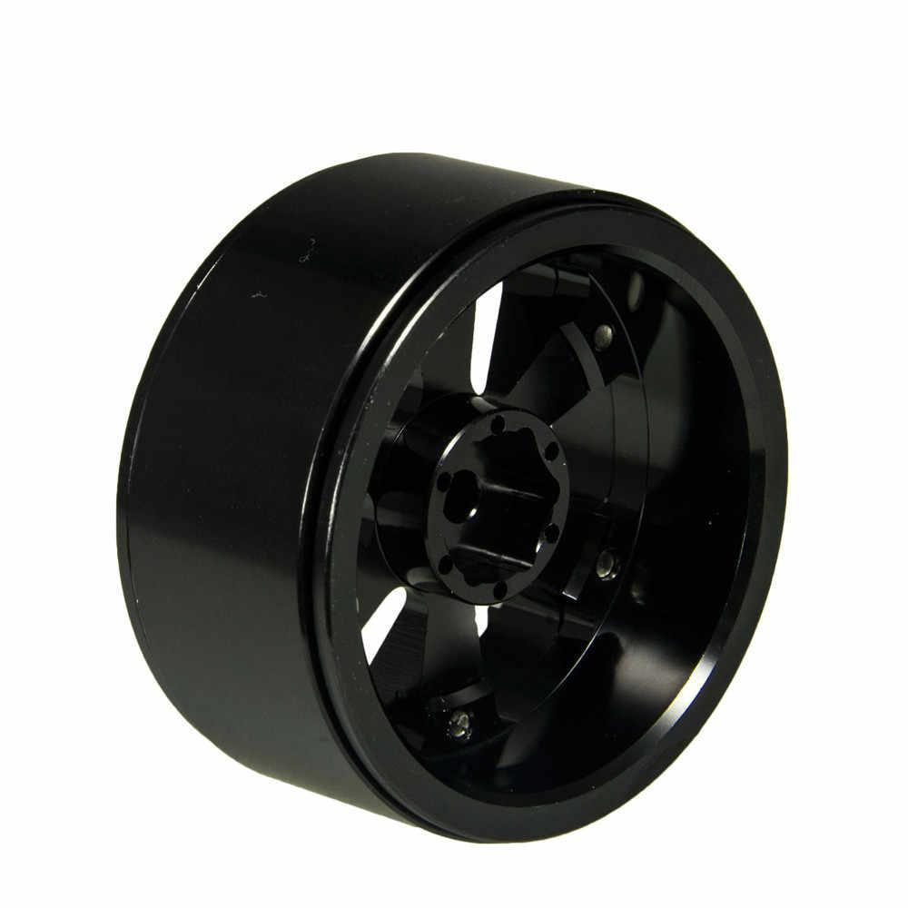 4 шт. RC Рок Гусеничный металлический обод колеса 1,9 дюймов BEADLOCK для 1/10 осевая SCX10 90046 TAMIYA CC01 D90 D110 TF2 Traxxas TRX-4