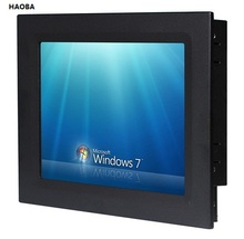 12 1 inch Industrial Touch Screen Panel PC Core i3 CPU 2GB DDR3 320GB HDD all