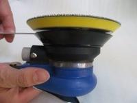 High Quality 5 Inch Pneumatic Wax Polishing Machine Polishing Machine Package Including 3pcs 5 Inch Polishing