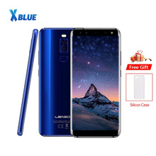 Original LEAGOO S8 3GB 32GB phone 5.72 Inch 18:9 Edge-Less Display Octa Core 13MP 4 Cameras S8 4G smartphone android 7.0 2940mAh
