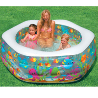 Large Size 191*61CM Inflatable Swimming Water Pool Children Adults Family Playground Piscina Bebe Zwembad