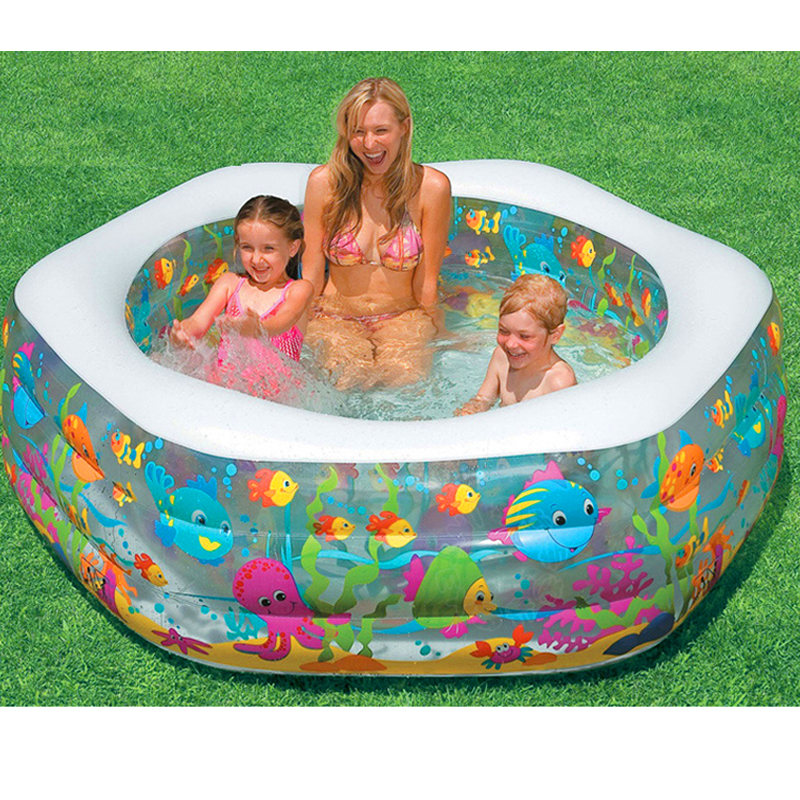 Large Size 191*61CM Inflatable Swimming Water Pool Children Adults Family Playground Piscina Bebe Zwembad environmentally friendly pvc inflatable shell water floating row of a variety of swimming pearl shell swimming ring