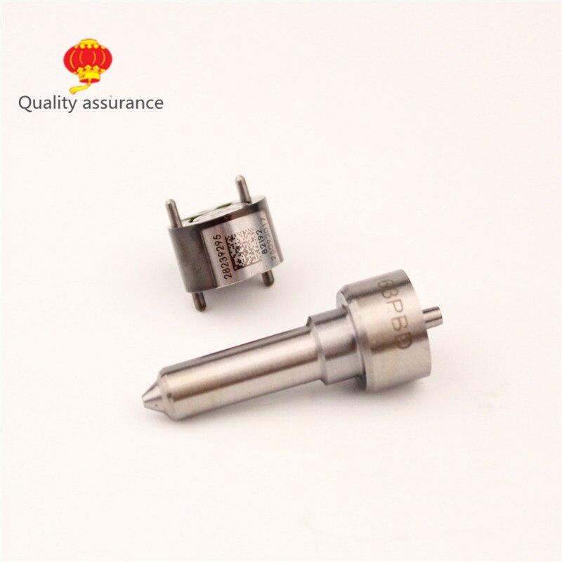 Комплект для ремонта инжектора Common Rail с блоком клапана управления 28239295 и топливной форсункой L163PBD для инжектора EJBR03301D