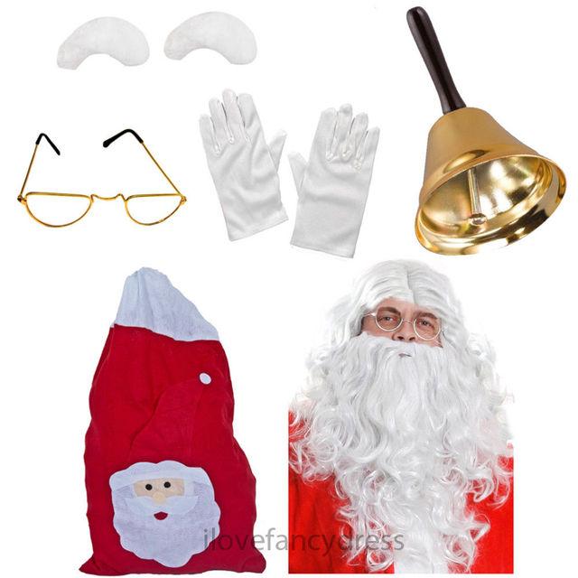 Natale Musicale Tie LAMPEGGIANTI festa di Natale Uomo Babbo Natale Festivo Costume