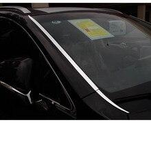 Lsrtw2017 из нержавеющей стали спереди автомобиля окна планки для Lexus nx200t NX200 nx300h 2015 2016 2017 2018