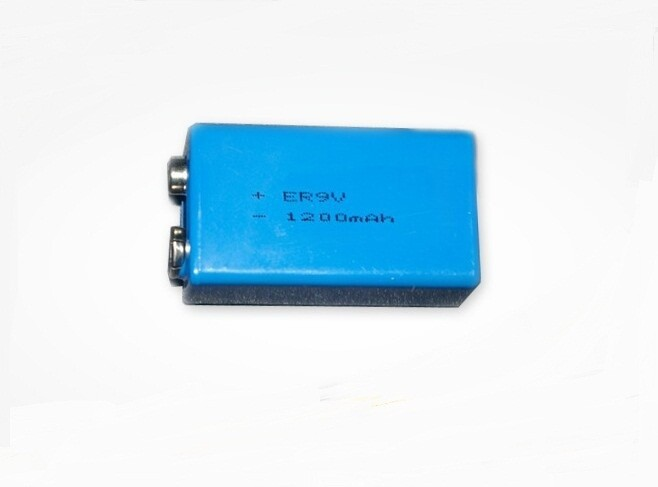 6PCS 9V Battery 1200mAh high power capacity 9v Lithium Battery for Smoke Alarms, Toys, Wireless Cameras, Mics Battery