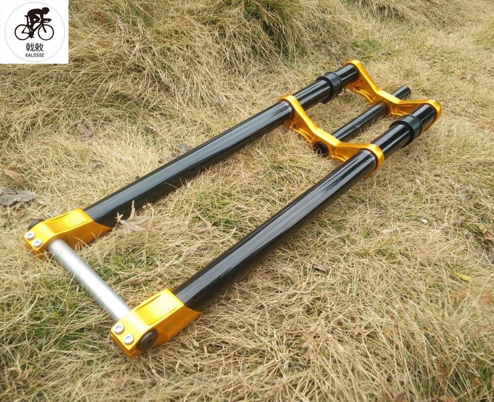 Kalosse 27.5er  snowbeach fork  barrel shaft  2627.5*4.0 inch   1-18 inch 20*135 mm fork  Fat bike