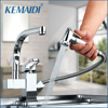 Solid Brass Kitchen Mixer Taps Hot And Cold Kitchen Tap Single Hole Water Tap Kitchen