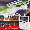 Frete grátis YD-212 Zangão RC com Câmera HD FPV 4 canais RC brinquedos modelo de helicóptero quadrocopter quad copter aviões girft
