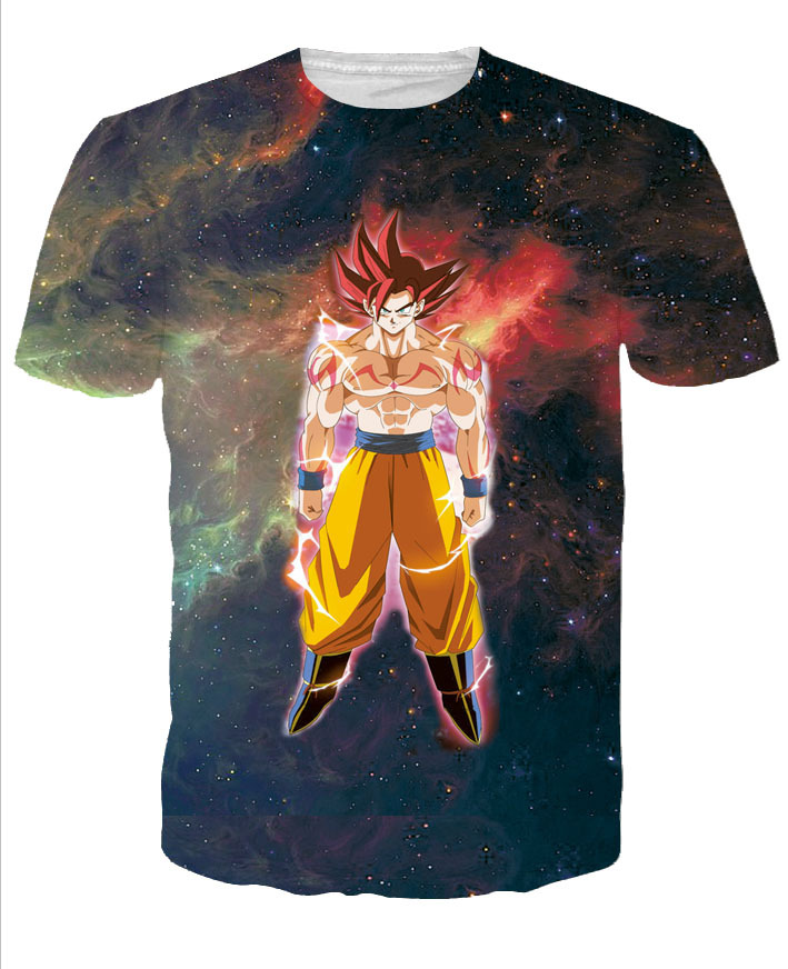 Hot Dragon Ball Supe 3D T-shirt HD Creative Men/Women Summer Anime Cartoon Printed T-shirt Tops Funny Clothes