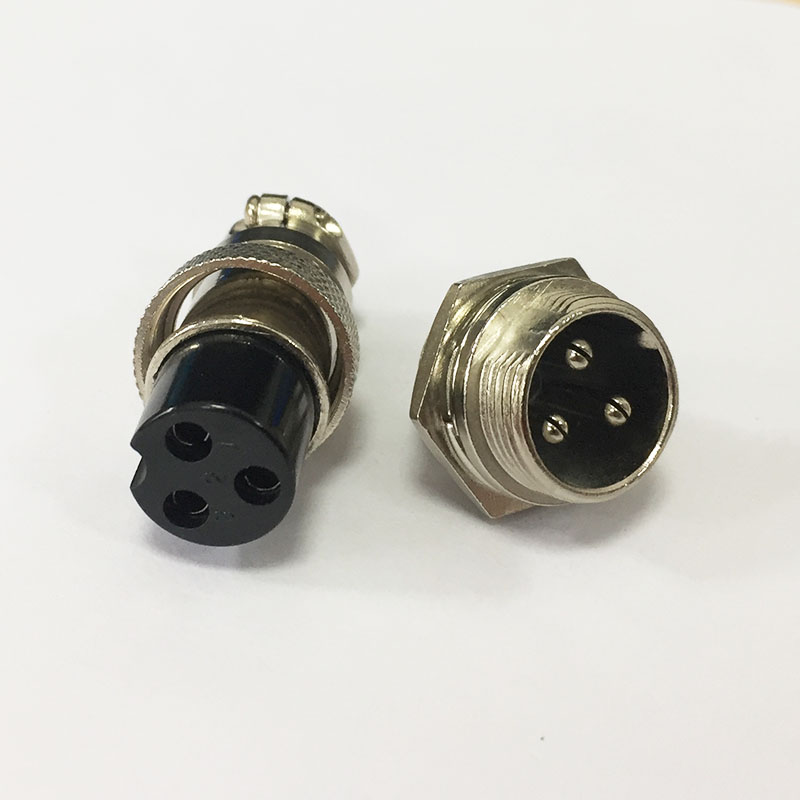 <font><b>70</b></font>*18mm Metal Aviation Plug G16 Screw Type Socket Connectors <font><b>2</b></font>/3/4/<font><b>5</b></font>/6/7 Pins image