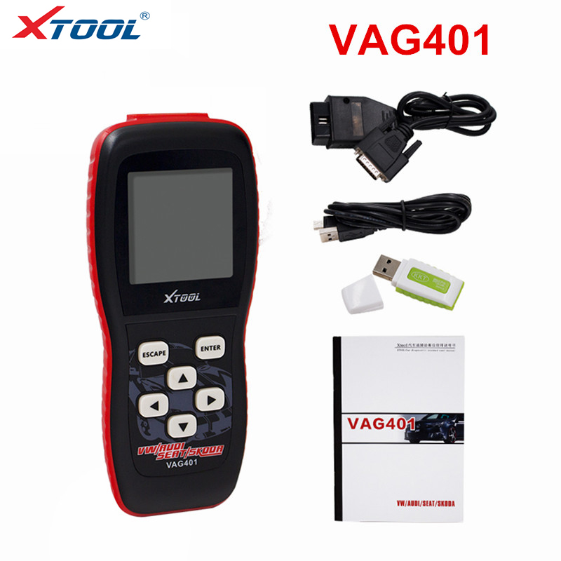 OBD2 XTOOL VAG401 Engine Code Reader XTOOL <font><b>VAG</b></font> 401 Code Reader for AUDI SEAT SKODA Diagnostic Tool <font><b>OBD</b></font> 2 Automotive Scanner image