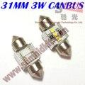 2 pcs frete grátis c5w 12 v 31mm SAMSUNG c5w 31mm 6500 K 31mm levou para a Licença placa de Luz, luz de Leitura