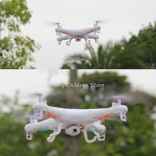 Abbyfrank 2.4G RC Helicopter Drone With Camera 2MP HD Remote Control Helicopter X5C 4CH 6 Axis Gyro Quadcopter Drone RC Gift Toy