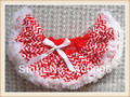 Оптовая продажа девушки мода красный белая полоса с бантом юбки девушки детей для девочек юбки PETS-134
