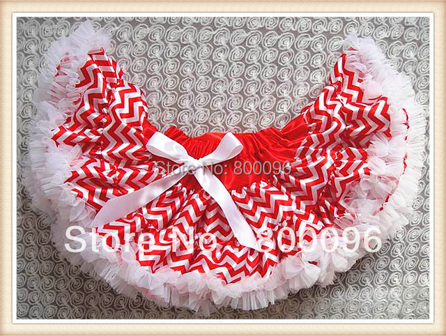 Wholesale Girl's Fashion Red White Strip Bow Skirts Girls of Kids for  Girls Tutu Skirt  PETS-134